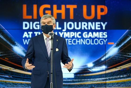 奥委会主席巴赫历史上首次采用云技术支撑全球转播